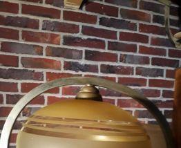 lustre art deco 1930 a 40s  4 globes