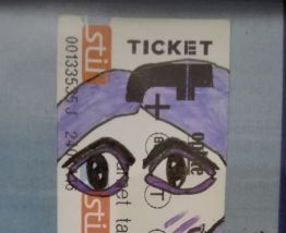 Portrait Ticket  #13