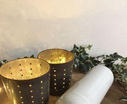 Bouteille blanche en grès vernissé, décoration cuisine