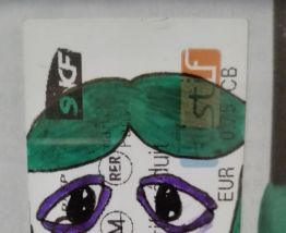 Portrait Ticket  #15