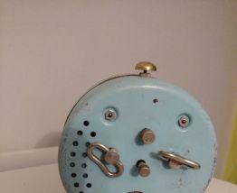 réveil vintage bleu Mr Malvezin - Monsalvy années 70