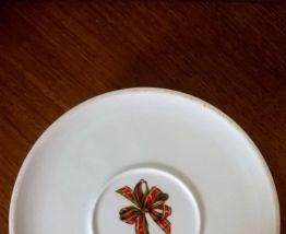 Bonbonnière en porcelaine Jacques Cœur