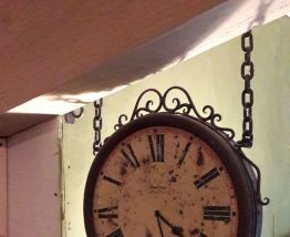 horloge de gare
