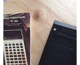 Calculatrice Texas Instrument TI 30