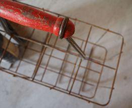 Porte bouteilles en métal