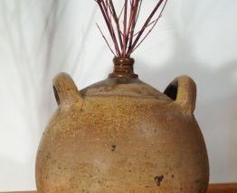 Ancienne jarre en grès vernissé