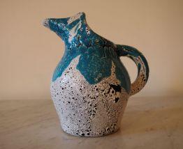 Pichet à eau ou à vin en céramique style Vallauris