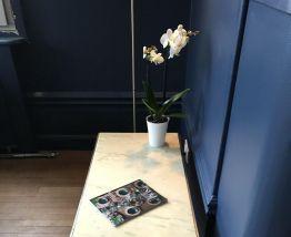 Table basse marbre années 60 Style Jansen