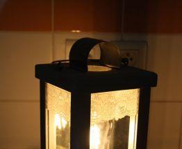 """LAMPE A POSER RECUP' """"LANTERNE"""""""