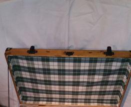 Ancienne valise bois
