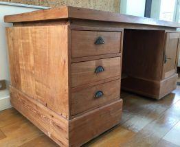 Bureau en bois teck massif