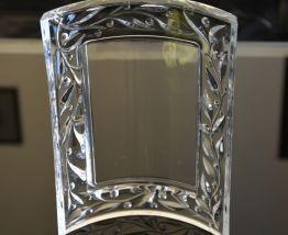 cadre photo en cristal