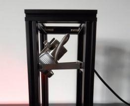 Lampe profilé aluminium