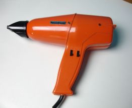 Sèche cheveux Moulinex orange