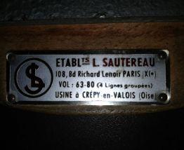 Tabouret industriel - Ets Sautereau