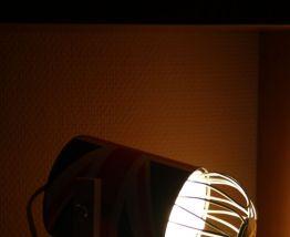 "LAMPE A POSER RECUP' ""UNION JACK"""