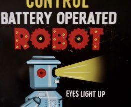 PLAQUE TOLE ROBOT