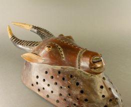 masque ancien africain antilope gouro mendes