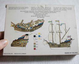 """maquette bateau """"The Golden Hind"""" airfix"""