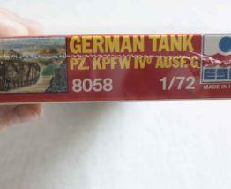 maquette modèle réduit 1/72 tank allemand