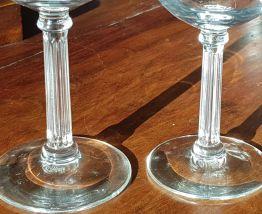 ensemble de verres à pied