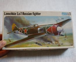 maquette avion 1/72 frog Lavochkin Russian fighter