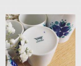 Tasses à café porcelaine Thomas Germany
