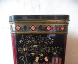 série de boites à thé ,gigognes