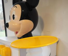Commode MICKEY MOUSE STARFORM 1980 Pierre COLLEU