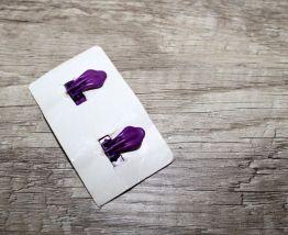 4 paires de boucles d'oreilles clip