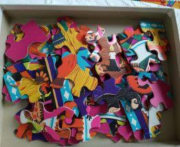 Joli puzzle Blanche-Neige 60 pièces