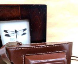 Etui cuir vintage FEX pour appareil photo