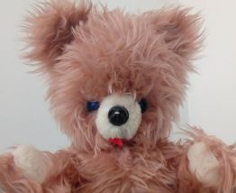 Ancien ours en peluche  rétro vintage teddy bear