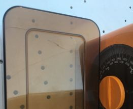 Balance vintage Terraillon orange