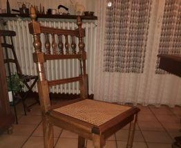 Table de salle en chêne + 6 chaises