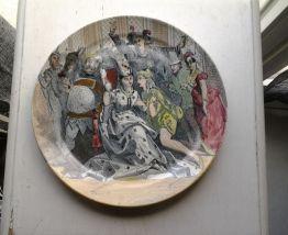Assiette Bouffes Parisiennes 20 Cm Creil & Montereau