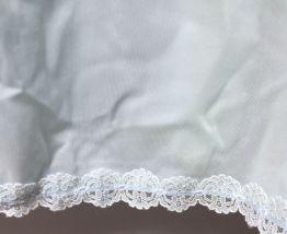 Combinaison / nuisette / jupon vintage menthe taille 36