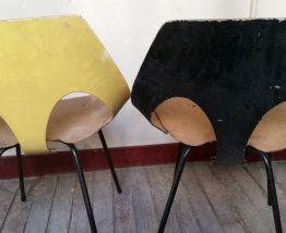 2 chaises Jason par Carl Jacobs pour Kandya, 1950