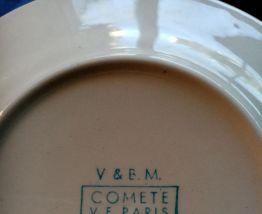 Service à café XIXème porcelaine de Paris