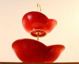Plat à biscuit 'rouge cerise'