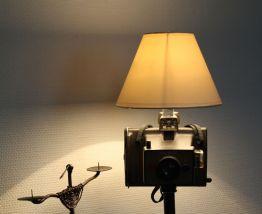 "LAMPE RECUP' VINTAGE ""POLAROID"" 5"