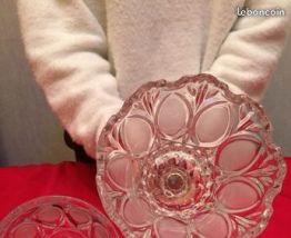 bonbonnière en cristal véritable