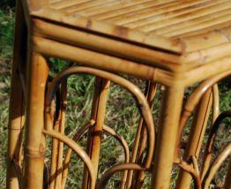 sellette en bambou