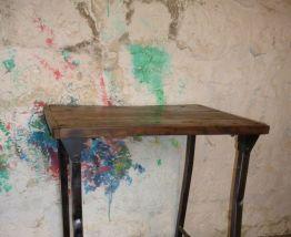 TABLE - CONSOLE - ETABLI - VINTAGE