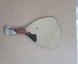 Miroir à main biseaué