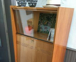 Secrétaire,bureau vintage scandinave pieds fuseaux