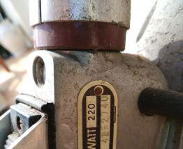Aspirateur vintage Tornado non fonctionnel