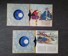 LOT DE 2 LIVRE-DISQUES PHILIPS 1957/58