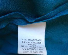 Robe de cérémonie bleue, convient du 48 au 54