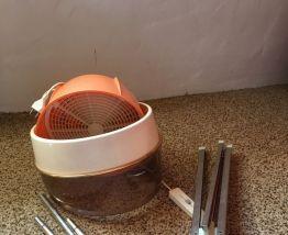 casque  sèche cheveux sur pied calor